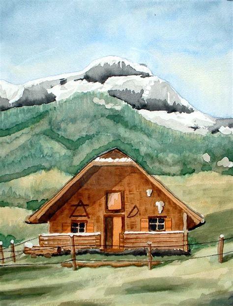 Holzhütte Berge Mieten by Bild Almh 252 Tte Landschaft Berge H 252 Tte Mike Bei Kunstnet