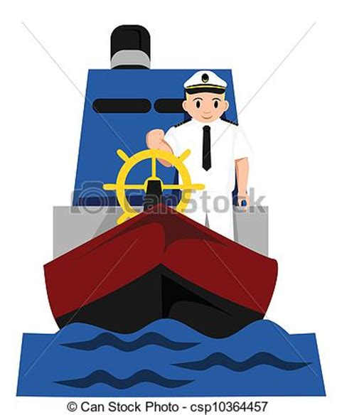 boat captain graphics captain royalty free vector clipart csp10364457