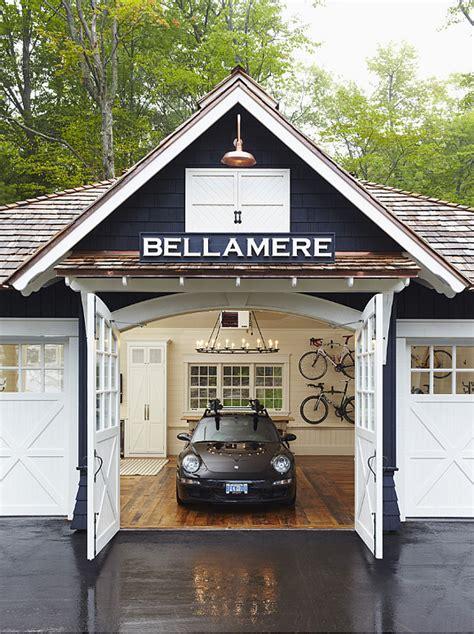 Cottage Garage by Trendy Lake Cottage Home Bunch Interior Design Ideas