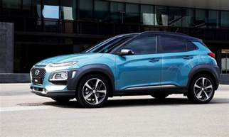 Is Hyundai 2018 Hyundai Kona Is Ready To Battle The Toyota C Hr The