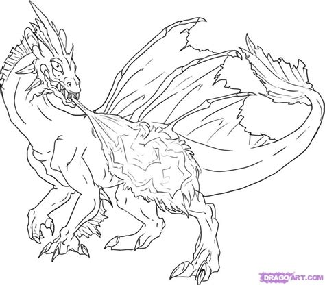 coloring book page drawing coloring pages how to draw a red fire breathing dragon