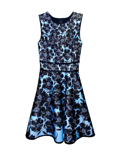 Designer For Less Cynthia Rowleys New Avon Collection by Cynthia Rowley Bonded Dress In Blue Blue Flower Lyst