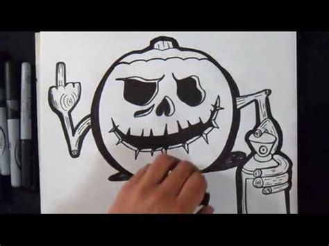 wie zu zeichnen ein kuerbis graffiti youtube