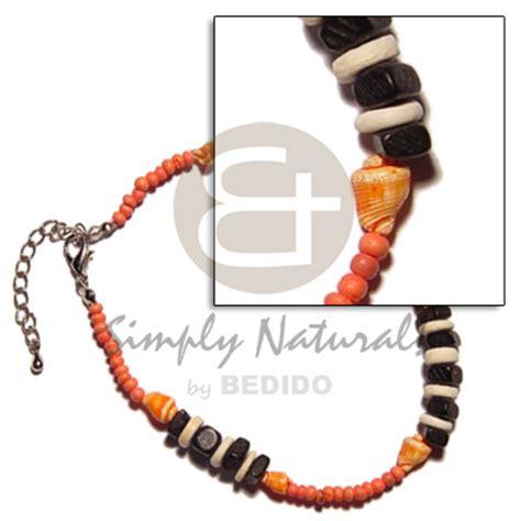 Coco Plain Black Choker philippines anklets handmade 2 3mm coco pokalet