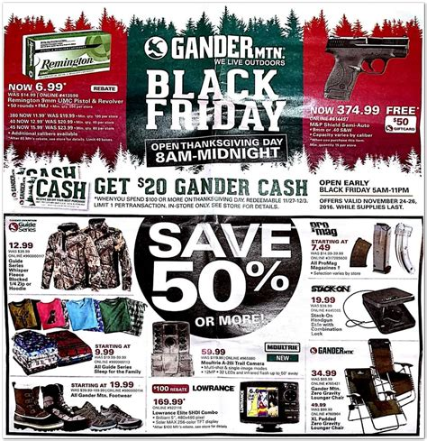 Gander Mountain Sweepstakes - gander mountain black friday deals