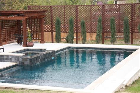 Backyard Pools Cypress Swimming Pool With Cypress Trees Swimming Pools