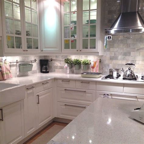 ikea backsplash 25 best ideas about white ikea kitchen on pinterest