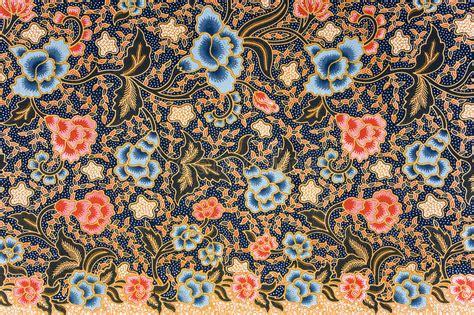 textile pattern indonesia indonesian batik sarong stock image image of material
