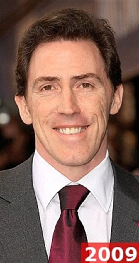 rob brydon hair hey what s so funny about my hair comic brydon shows off