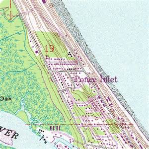 map of ponce inlet florida ponce inlet fl