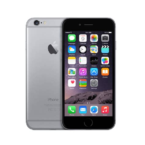 apple iphone 6 de 32 gb space gray telcel