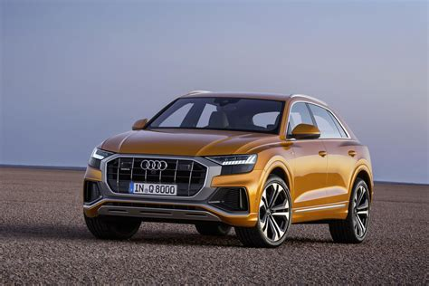 new audi q8 revealed luxury suv targets range rover sport