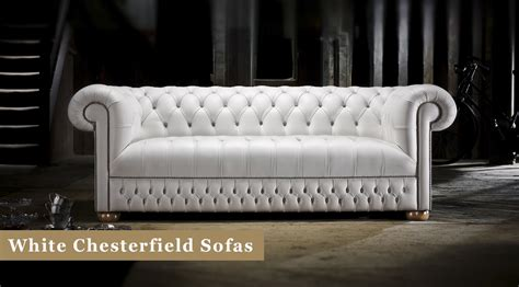 chesterfield sofa white white chesterfield sofas in leather timeless chesterfields