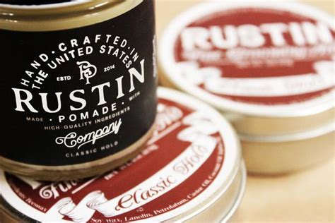 Rustin Classic Hold Pomade pomade news updates about the pomades and