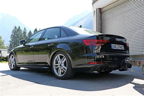 Audi S4 2016 by New 2016 Audi S4 Spied With Barely Any Disguise By Car