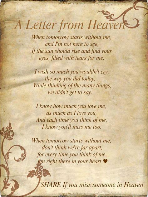 up letter poem introspective wallpaper on a letter from heaven dont