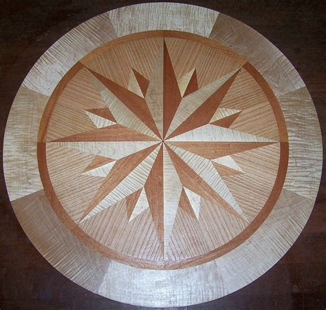 hardwood floor medallions hardwood floor medallion inlays and compass roses
