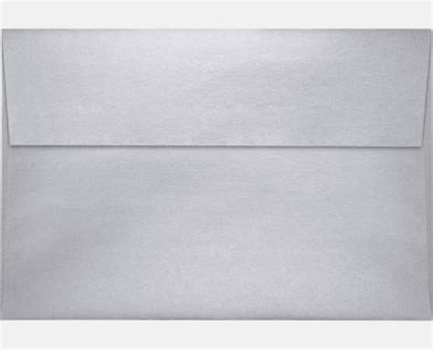 Square A8 silver metallic a8 envelopes square flap 5 1 2 x 8 1
