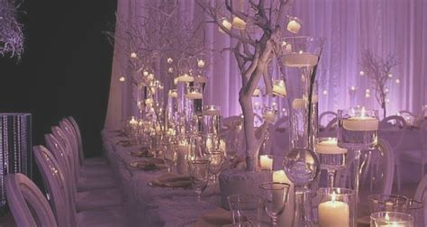 decoration themes romantic winter quince theme quinceanera