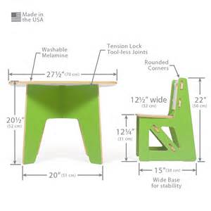 Desk And Chair Dimensions Modern Table And Chairs Sprout