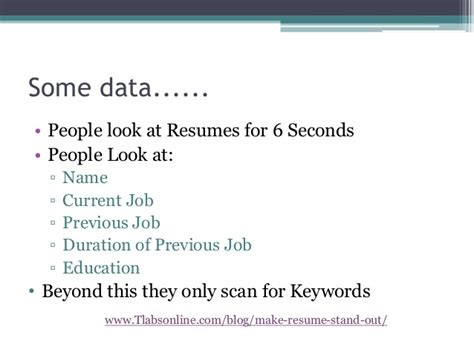 how to make resume stand out fluently me