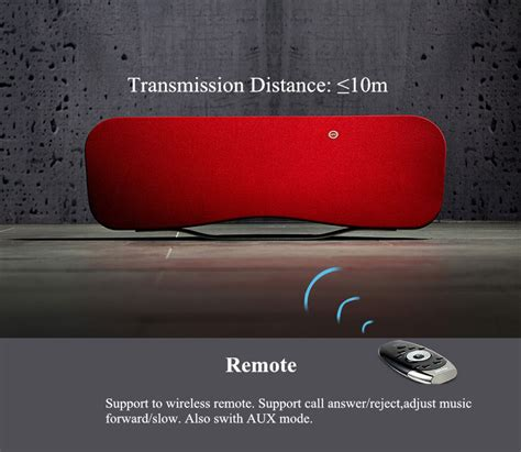 Remax Hifi Stereo Wireless 7w Bluetooth Speaker Rb M9 remax rb h6 3d stereo dsp sound remote wireless bluetooth speaker with nfc mic sale