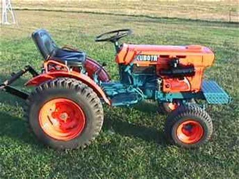 Used Farm Tractors For Sale Kubota B5100e Compact Tractor