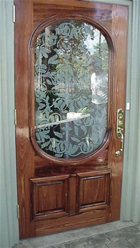 Custom Etched Glass Doors Custom Etched Glass Doors
