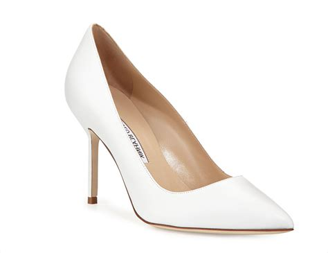 White Bridal Heels by Wedding Shoes Shop White Bridal Heels For A Classic Look