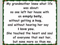 I Love & Miss you Every Day Grandma:)) | sayings |life ... I Love You Grandma Quotes