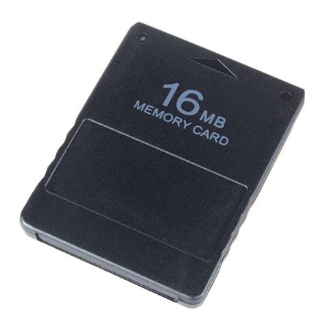 Memori Card Ps2 16mb Hitam ebay
