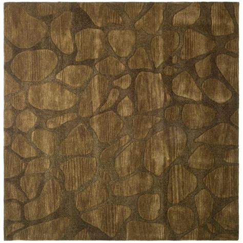 6 ft area rugs safavieh soho brown 6 ft x 6 ft square area rug soh815a