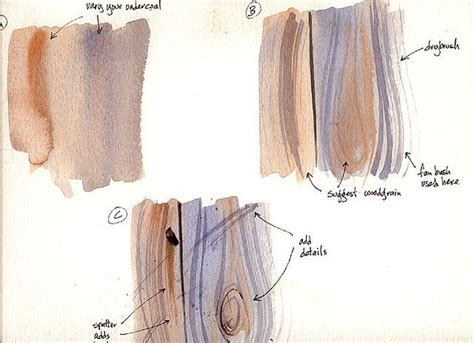 watercolor wood tutorial 1494 best art trees mountains and rocks images on pinterest