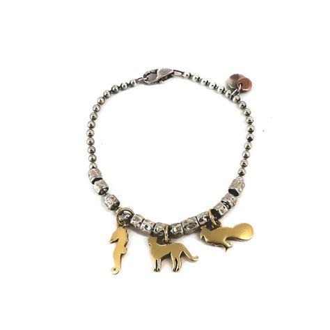 Pomellato Charms Bracelet Dodo Pomellato Trois Charms En Or