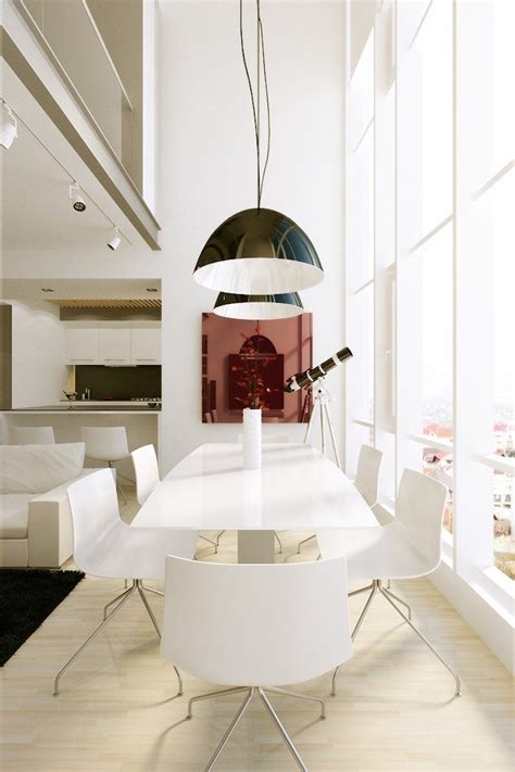 White Modern Dining Room Sets 10 Modern White Dining Room Sets That Will Delight You
