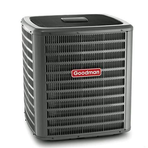 ton goodman  seer    stage air conditioner