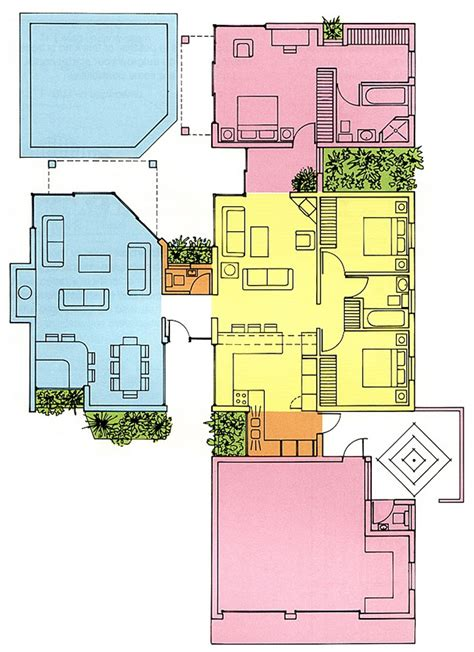 Sample Of Floor Plan For House Extensions