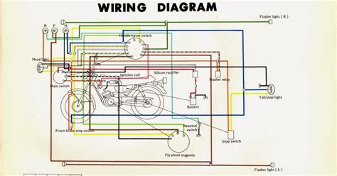 yamaha rxz wiring diagram wiring diagram with description