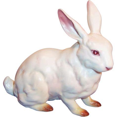 Vintage Easter Figurine Shop Collectibles - vintage lefton japan h880 white porcelain easter rabbit