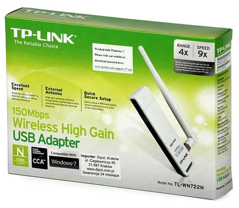 Usb Wifi Adapter Tp Link Tl Wn722n jual tp link tl wn722n 150mbps wireless usb adapter