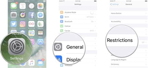 iphone restrictions how to use parental controls on your iphone or imore