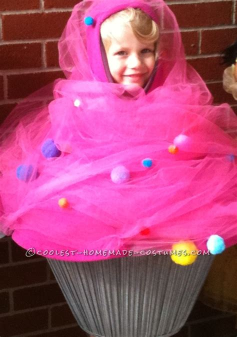 cupcake costume diy pink cupcake toddler costume with sprinkles and a cherry on top