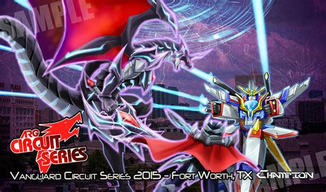 Cardfight Vanguard Playmate arg vanguard circuit series playmat by slifertheskydragon