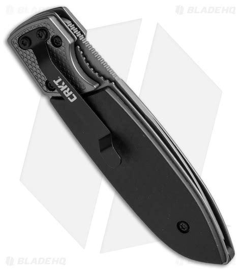 crkt kommer crkt russ kommer fulcrum 2 compact folding knife grn 2 75