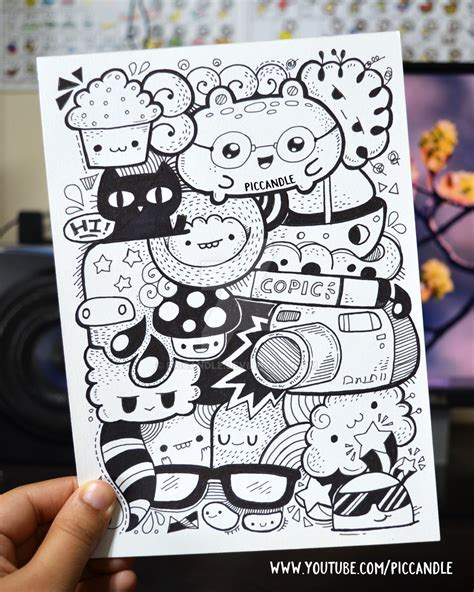 doodle for drawing page page marker doodle by piccandle on deviantart
