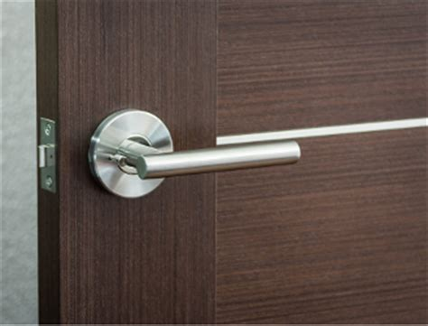 Interior Door Handles For Homes Leo Modern Stainless Steel Privacy Door Lever Handle