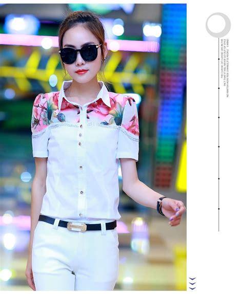 Kemeja Import Korea 18 kemeja wanita modis korea model terbaru jual murah