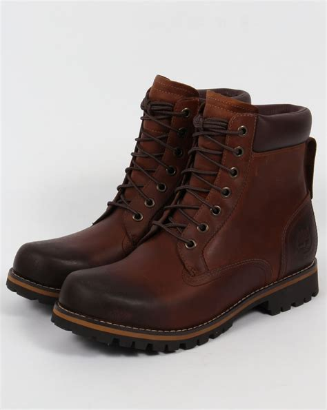 timberland rugged 6 inch boot brown s