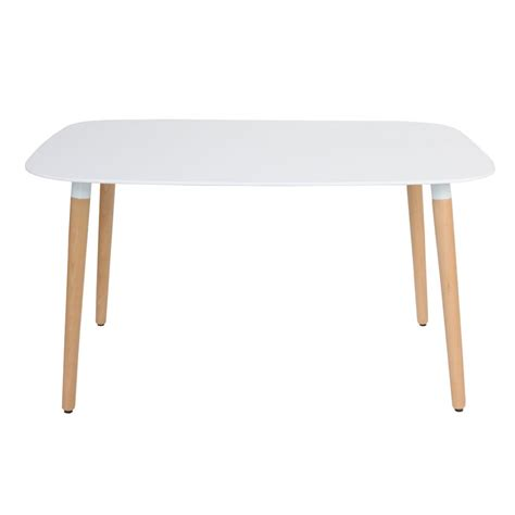 modern white rectangular dining table eames style dsw white rectangular dining table