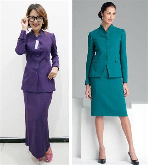 11 gambar model baju seragam kerja dinas guru terbaru 2017